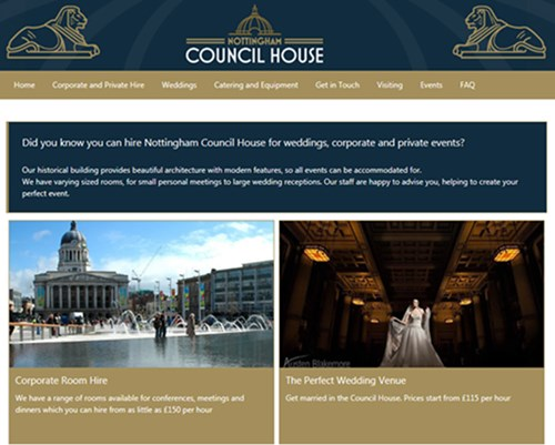 Council House Website