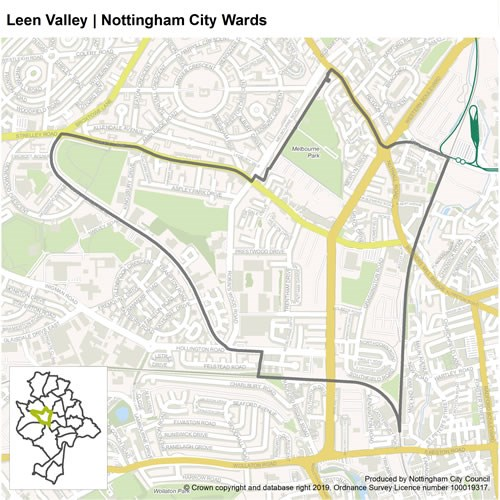 Leen Valley ward